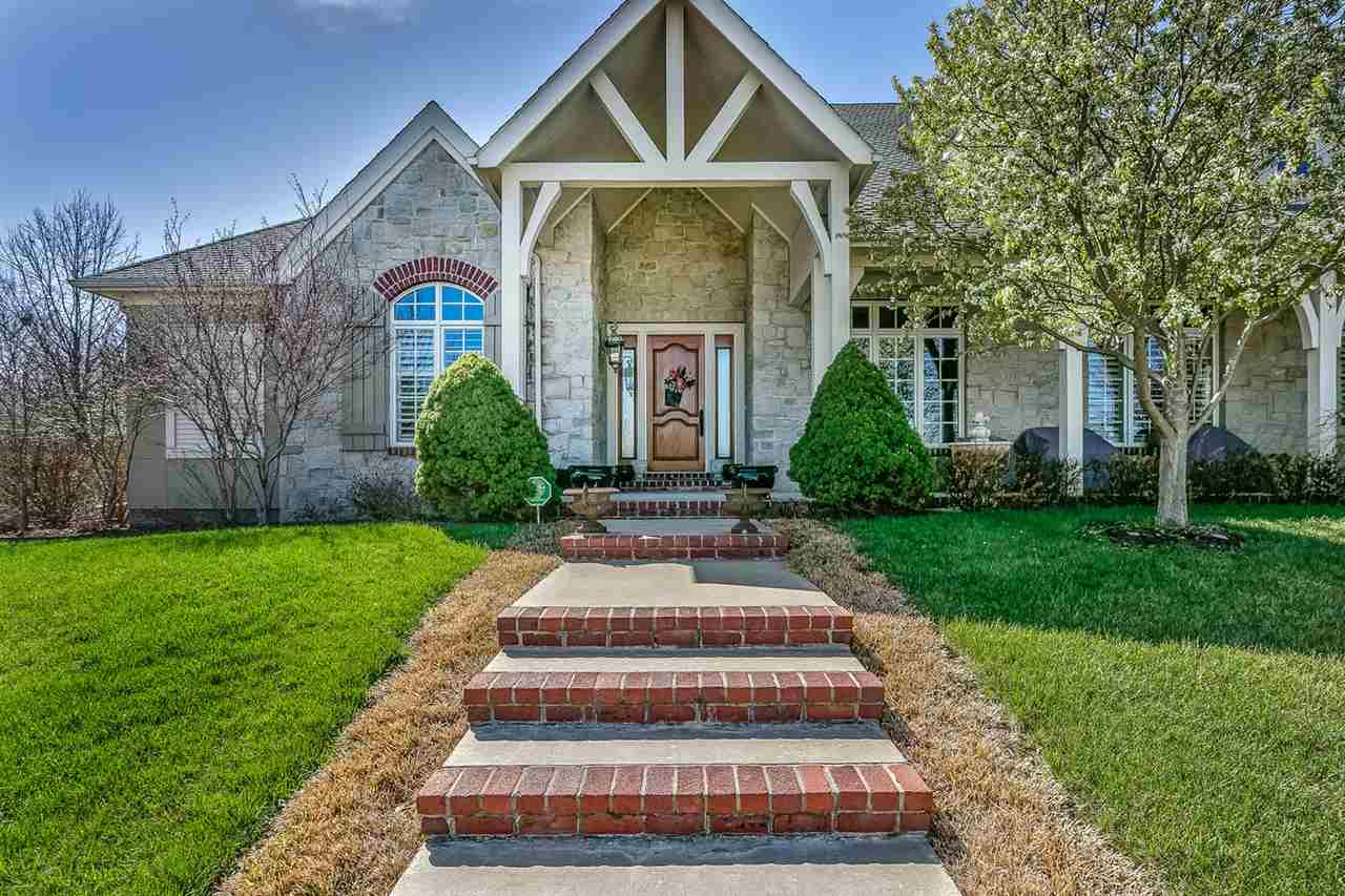 This MAGNIFICIENT offering is, possibly, one of the finest quality homes in South Central KS.  It is