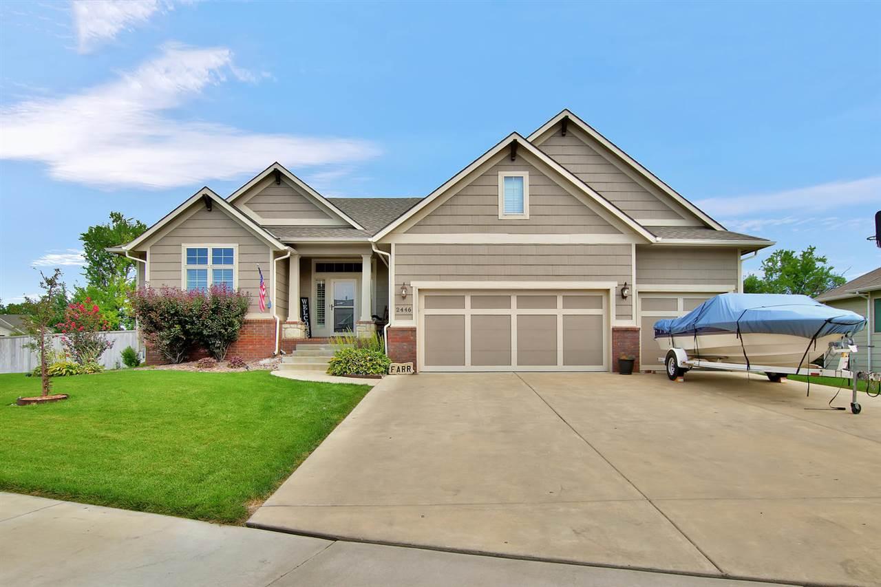 2446 N Sandstone St, Andover, KS, 67002