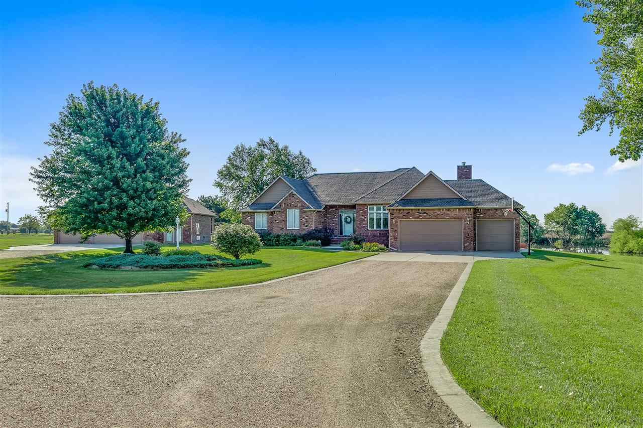 Don't Miss this Rare Find!  Private and Serene Country Living!  3500sq ft home with 6+ car garage tu