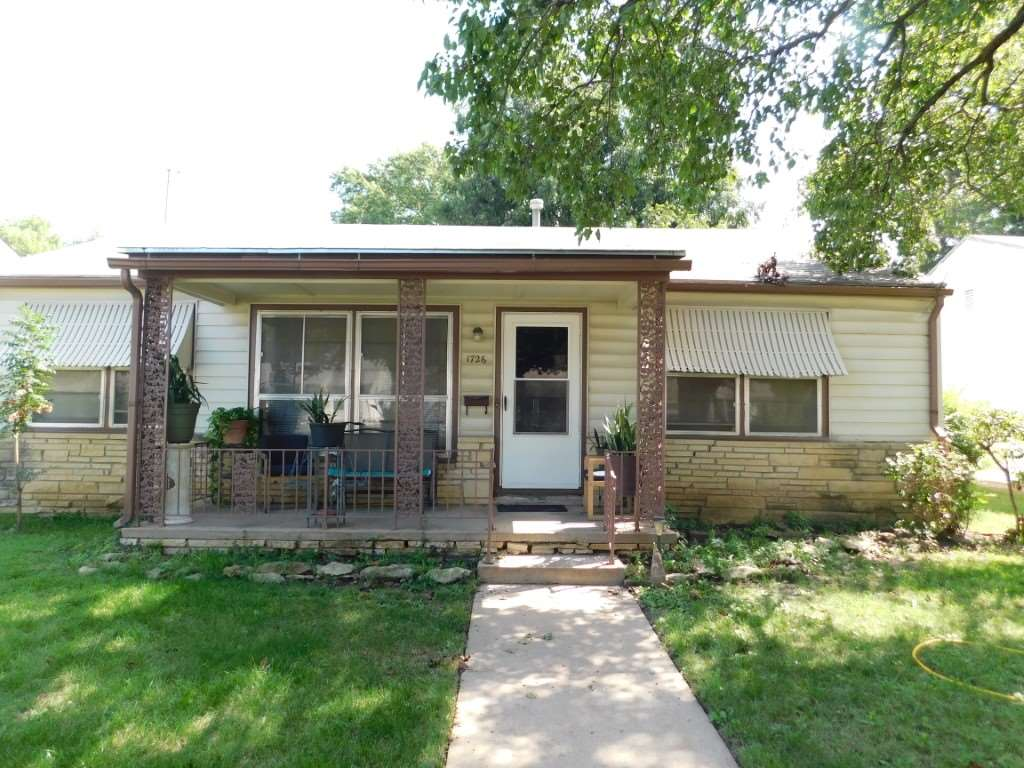 Home in nice quiet neighborhood with established trees, and an established garden for sale. Three nice size bedrooms one bath, and large kitchen with large dining area in kitchen. Home has a main floor laundry, newer A/C system and been recently painted on the exterior. Home is subject to sale with Tenant Rights. Current tenants wish to continue renting and have lived in the property for over (10) years.