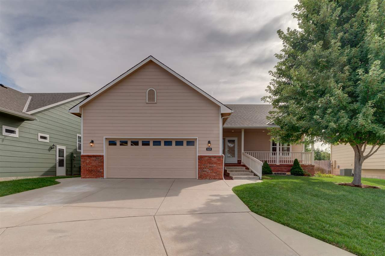 This patio home is located on the South end of Newton in the desired Autumn Glen subdivision.  This