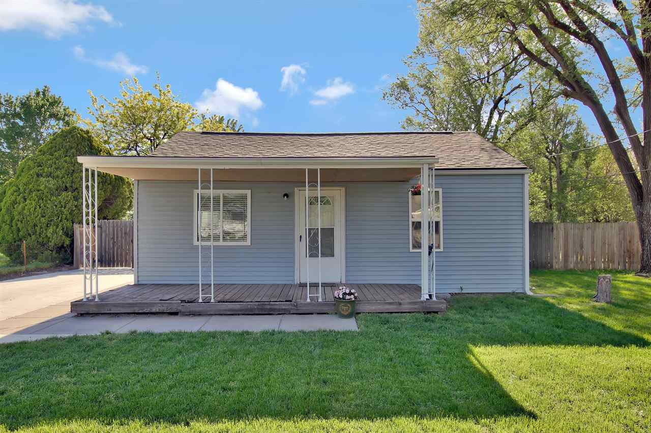 Perfect starter home or for someone wanting to down-size. This 2 bedroom, 1 bath home has an additional family room that was added on. All new interior paint, new driveway, huge yard w/fence. Bathroom has been remodeled and new windows!