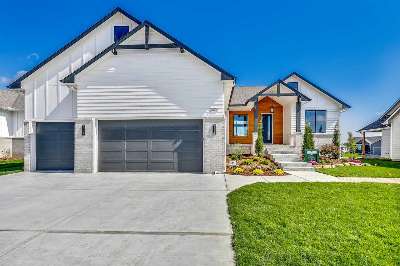 Paul Gray Homes newest in Cornerstone! Pick of the Parade!  5 beds, 3 baths.  Industrial meets elega
