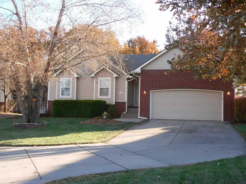 One owner home in Goddard School District. Come take a look at a very popular floorplan--10 ft ceili
