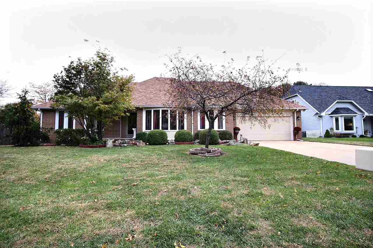 Gorgeous, huge home in prime Wichita location off Rock Road, just north of 21st Street, within walki