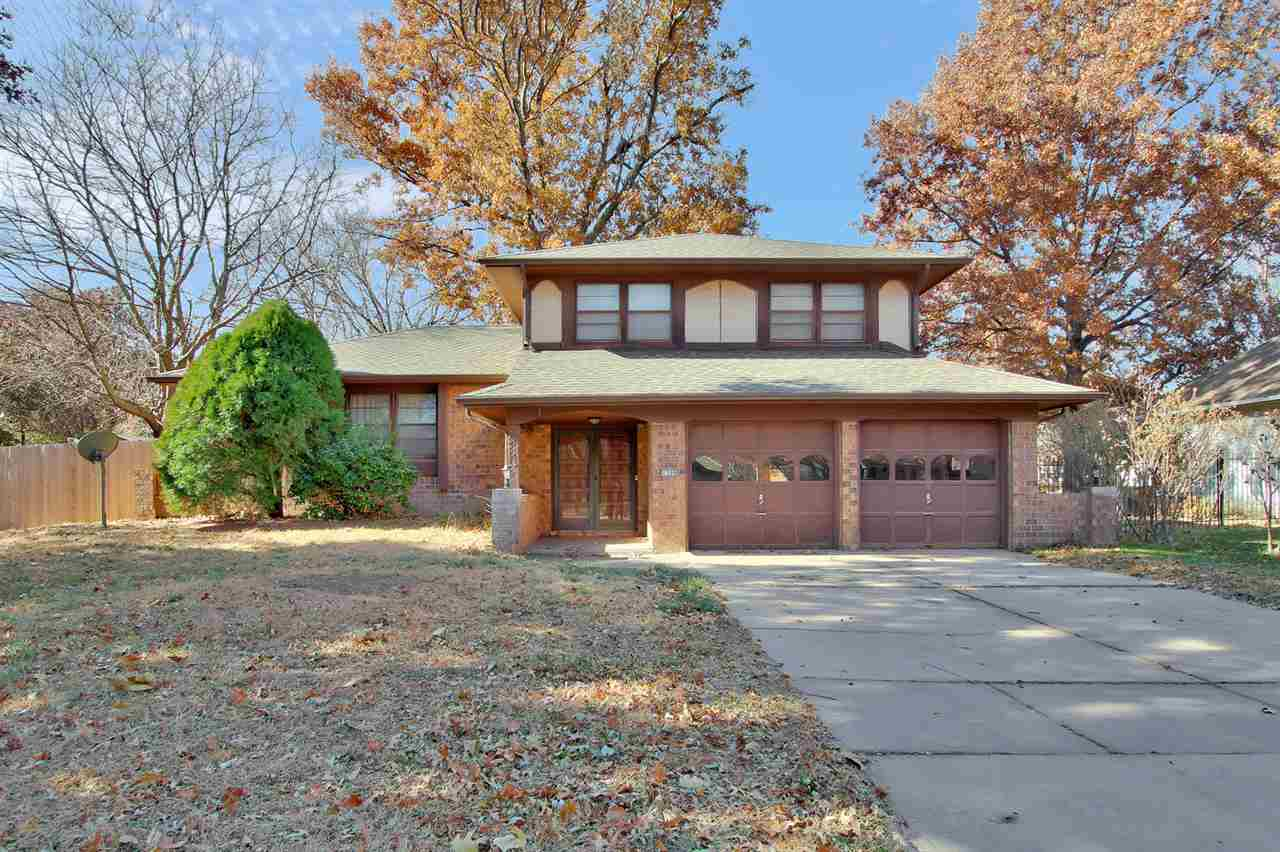 Quiet neighborhood. New Roof, Granite counter tops with an under mount stainless sink, New faucet, new dishwasher and you got to check out the back splash it is beautiful..  It has 3 living spaces.  3 year old carpet, Large Fenced yard with patio.  Some nice updates.  Lots of space for a growing family.  Wood burning fireplace in the family room.  Well with sprinkle system