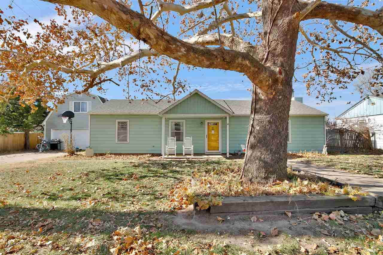 Beautiful 2 bedroom 1 bath home in West Wichita. Updates through-out, new wood floors throughout, in