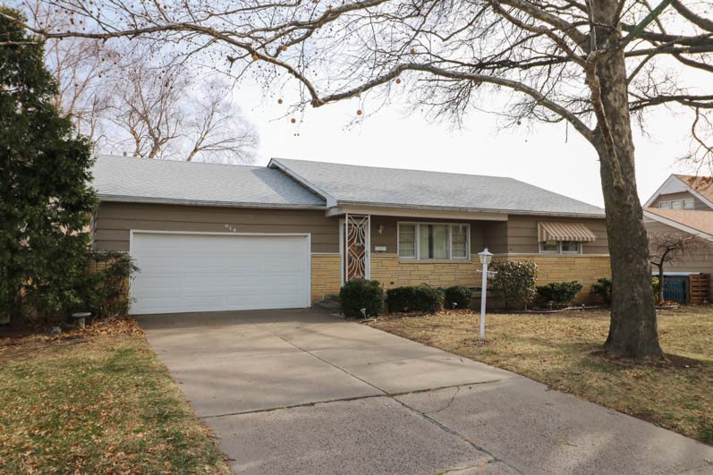 Picture yourself with 3 bdrms, 2 baths on the main level with beautiful hardwood bedroom floors, a s
