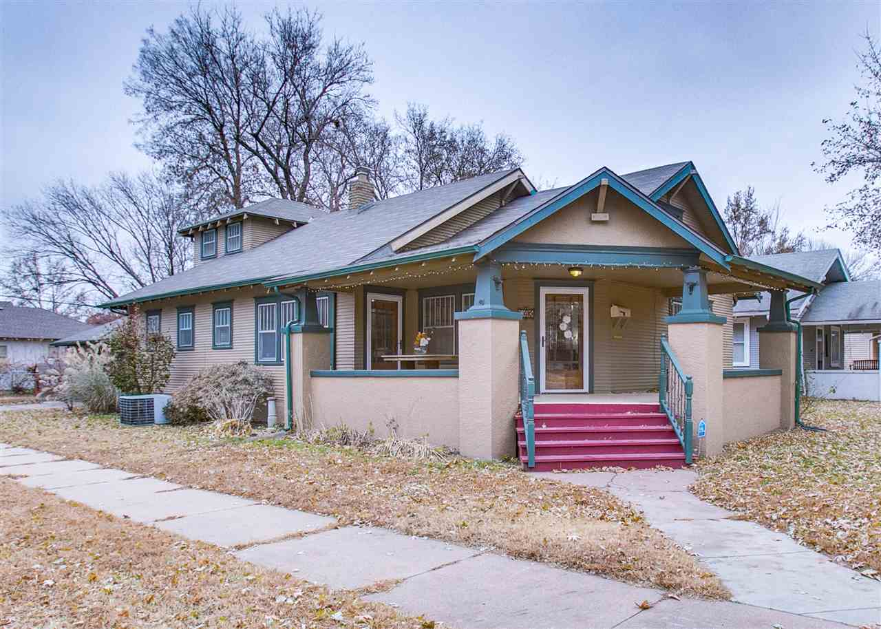 Classic bungalow, move-in ready but with all the charm in tact.  You'll see it the minute you open t