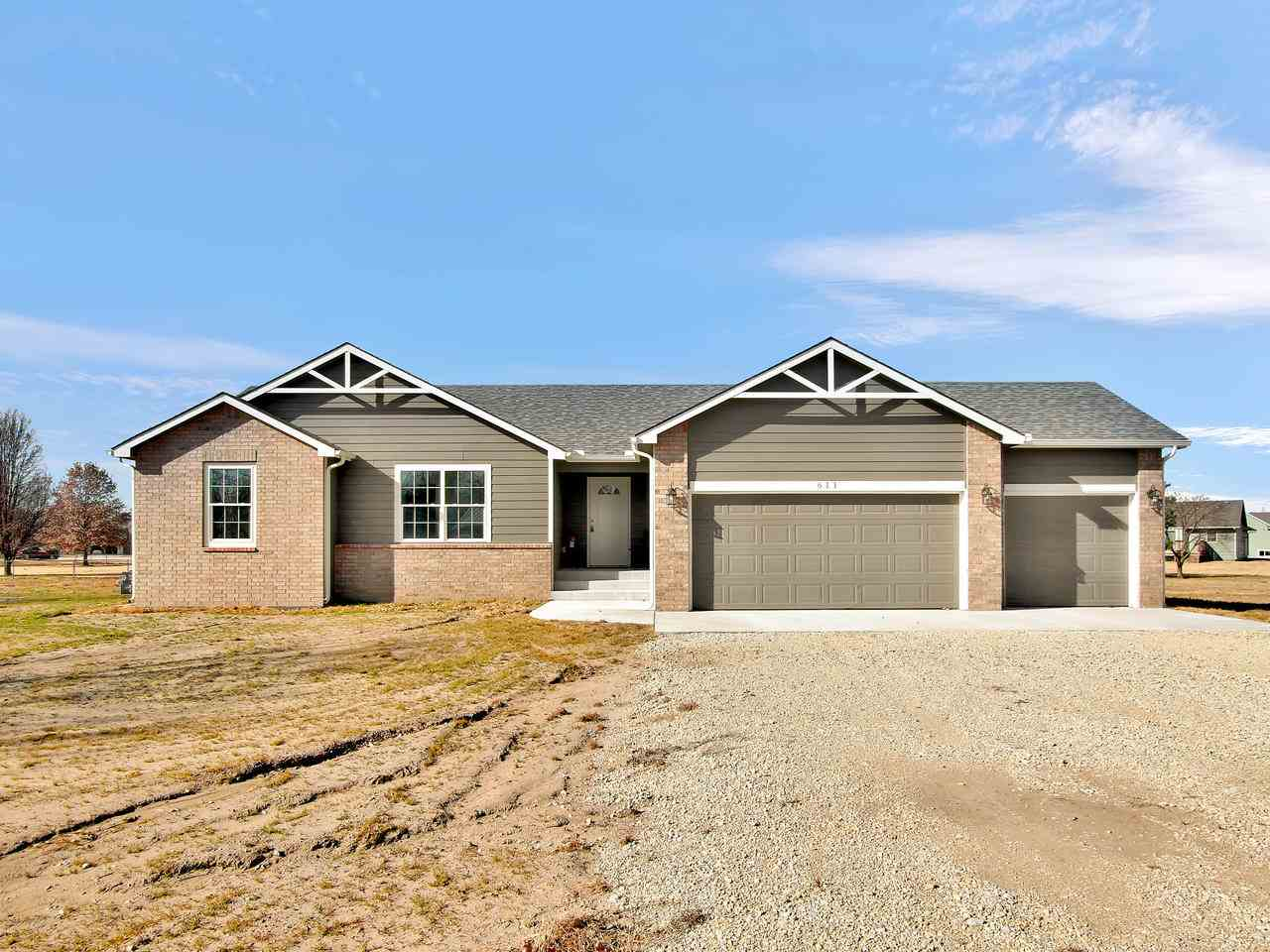 Brand new 4 bedroom, 3 bath ranch on a 1 acre lot with no specials. All the new upgrades you would w