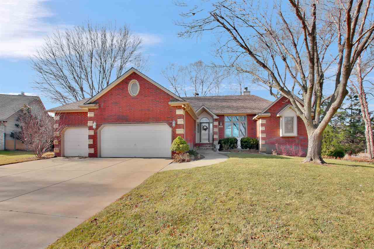 Beautiful well cared for home in West Wichita. Nicely updated. Master bath has 18x18 inch Tile floor