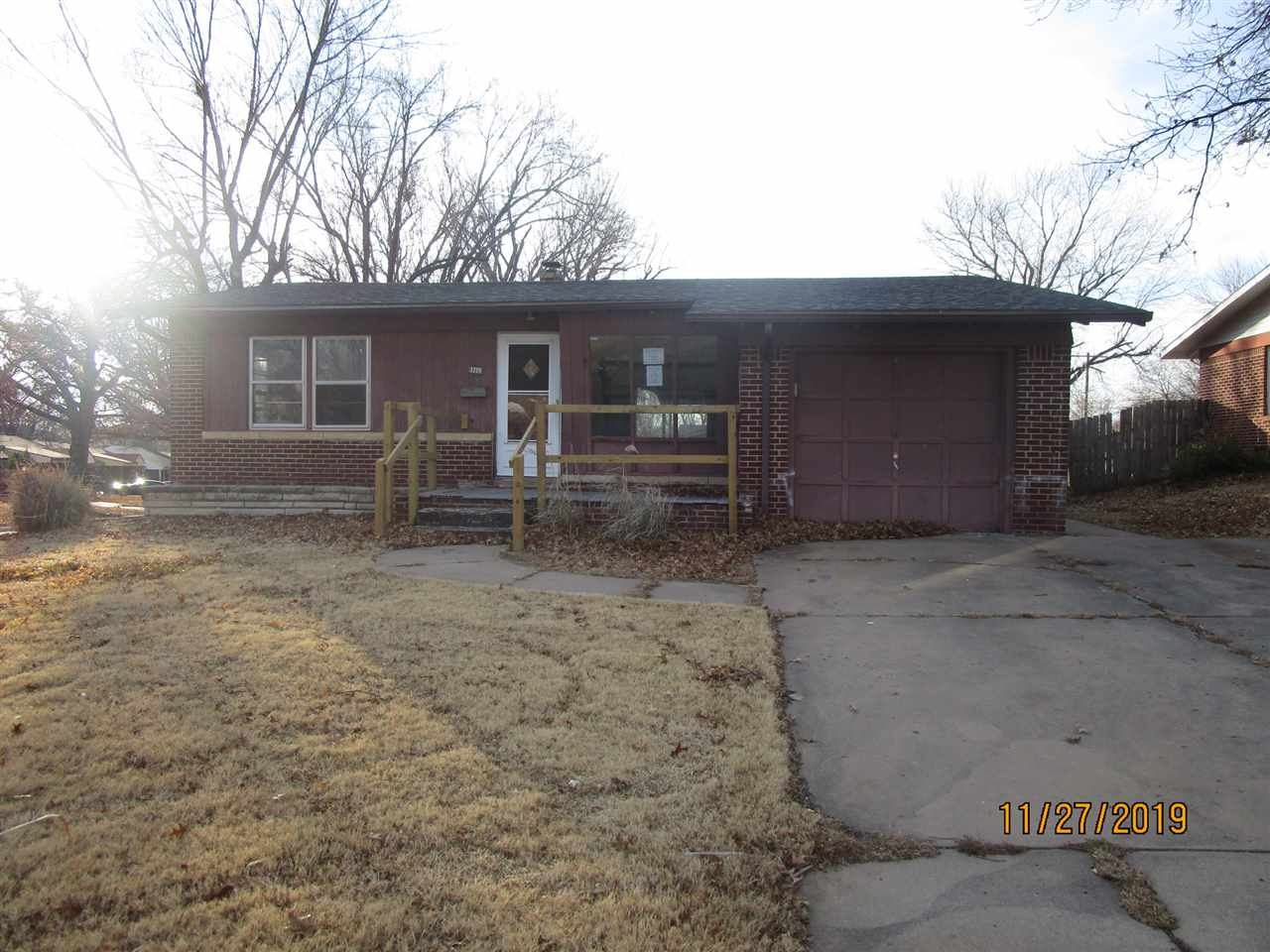 **FHA $100 Down Program Available For Eligible Buyers** Cute ranch home featuring 3 bedrooms, 2 bath
