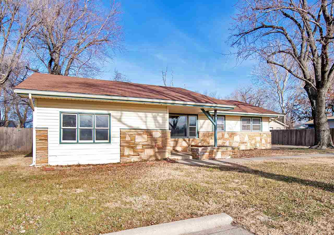 Location, Location, Location!  Welcome Home to this 3 bedroom, 1 bath, 2 car garage ranch home. Situ