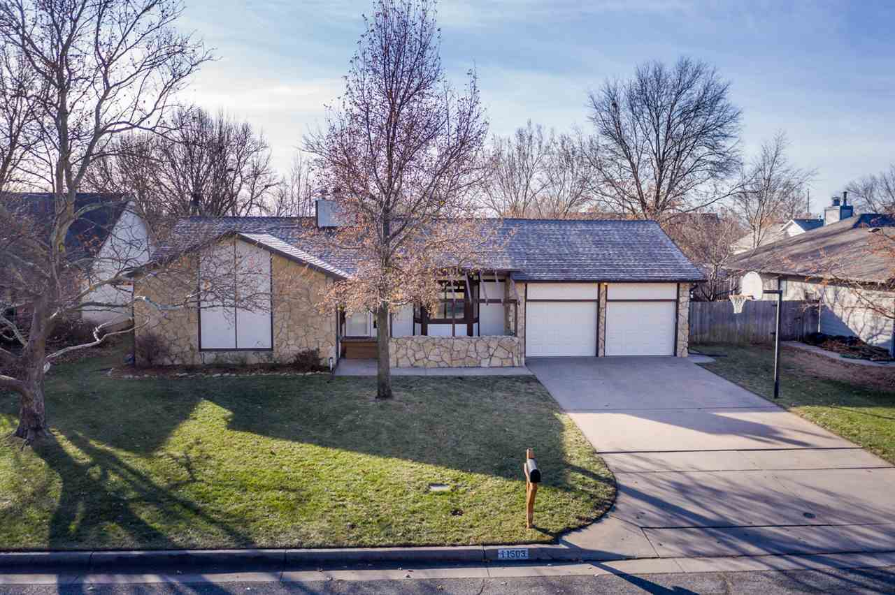 Extremely well-maintained home located in West Wichita in desirable Westlink Addition at 119th & Map