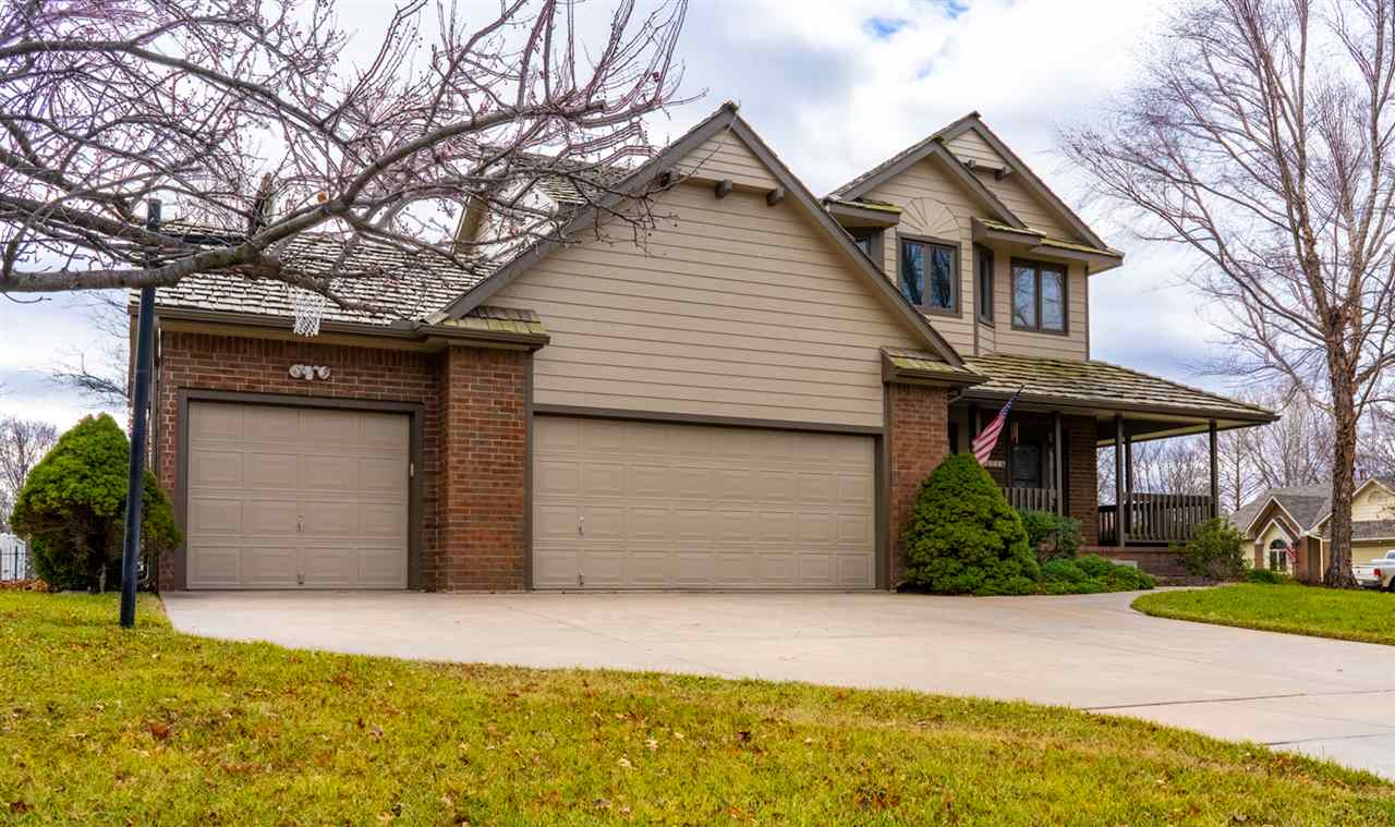 Located in a highly sought after west Wichita neighborhood on a corner lot is a a home so clean and