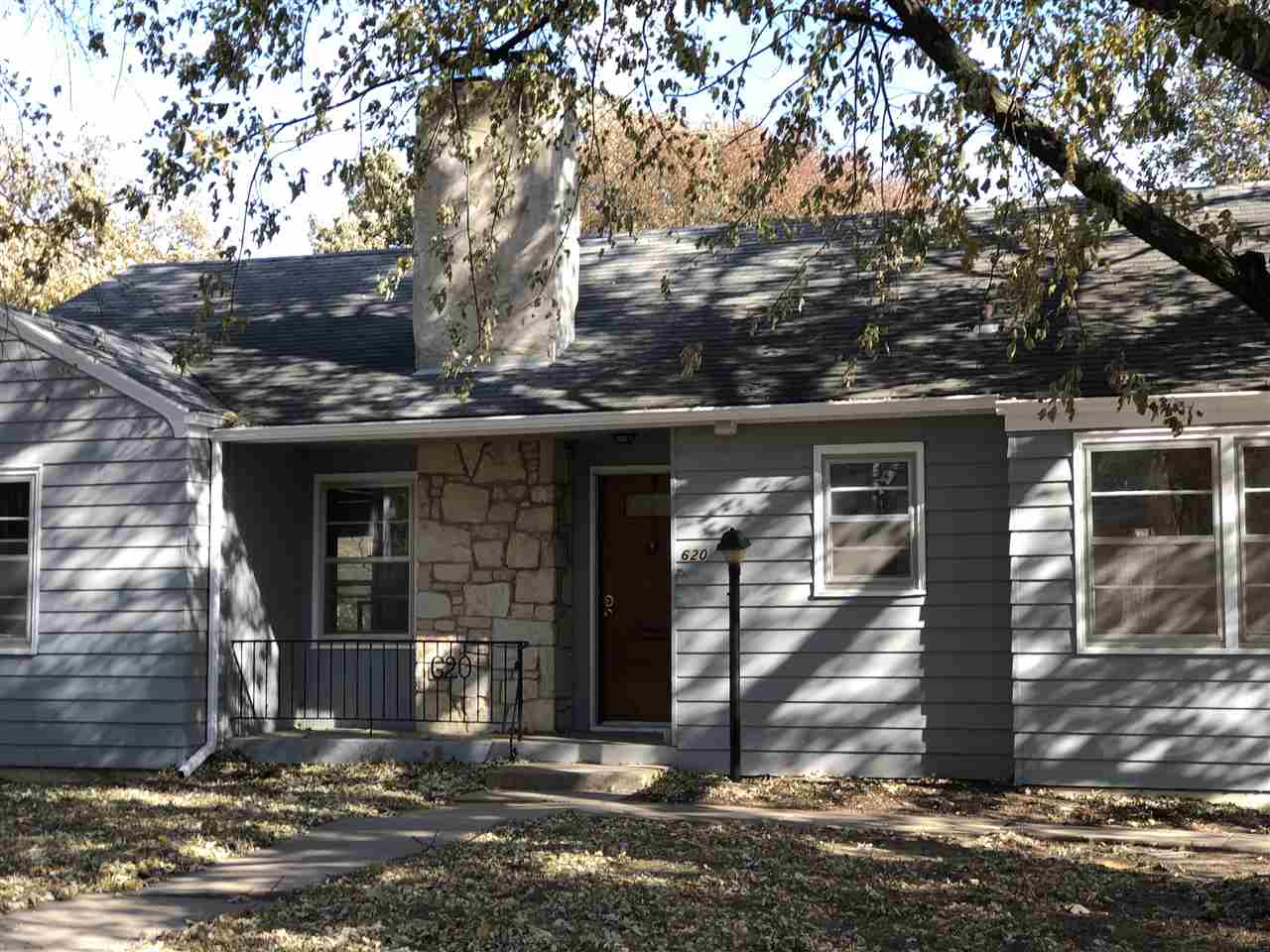 Nice ranch style home on quiet street. New paint throughout main floor of home and new wood laminate