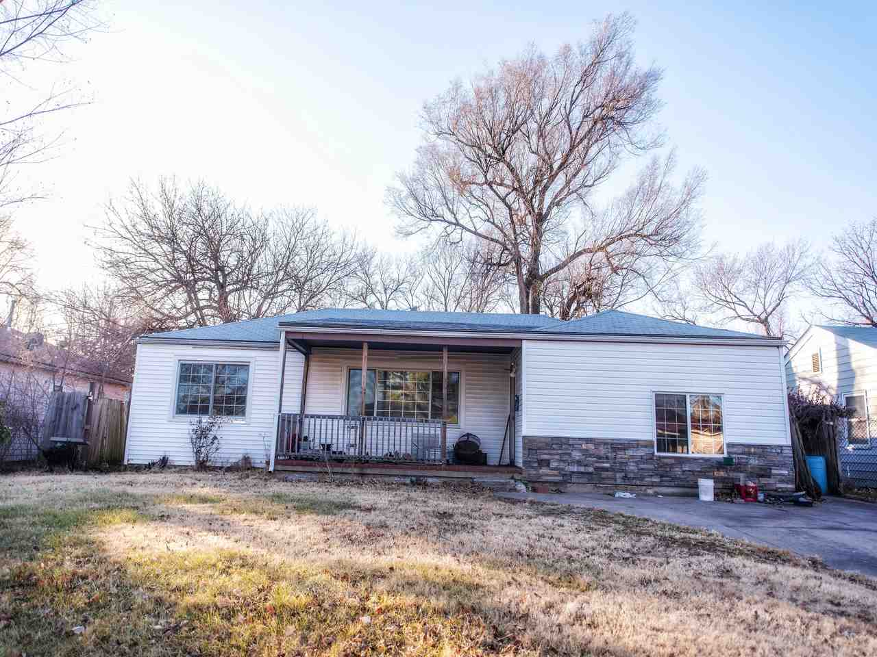 Attention investors Or anyone who is looking for a deal! This home is standing strong and would make