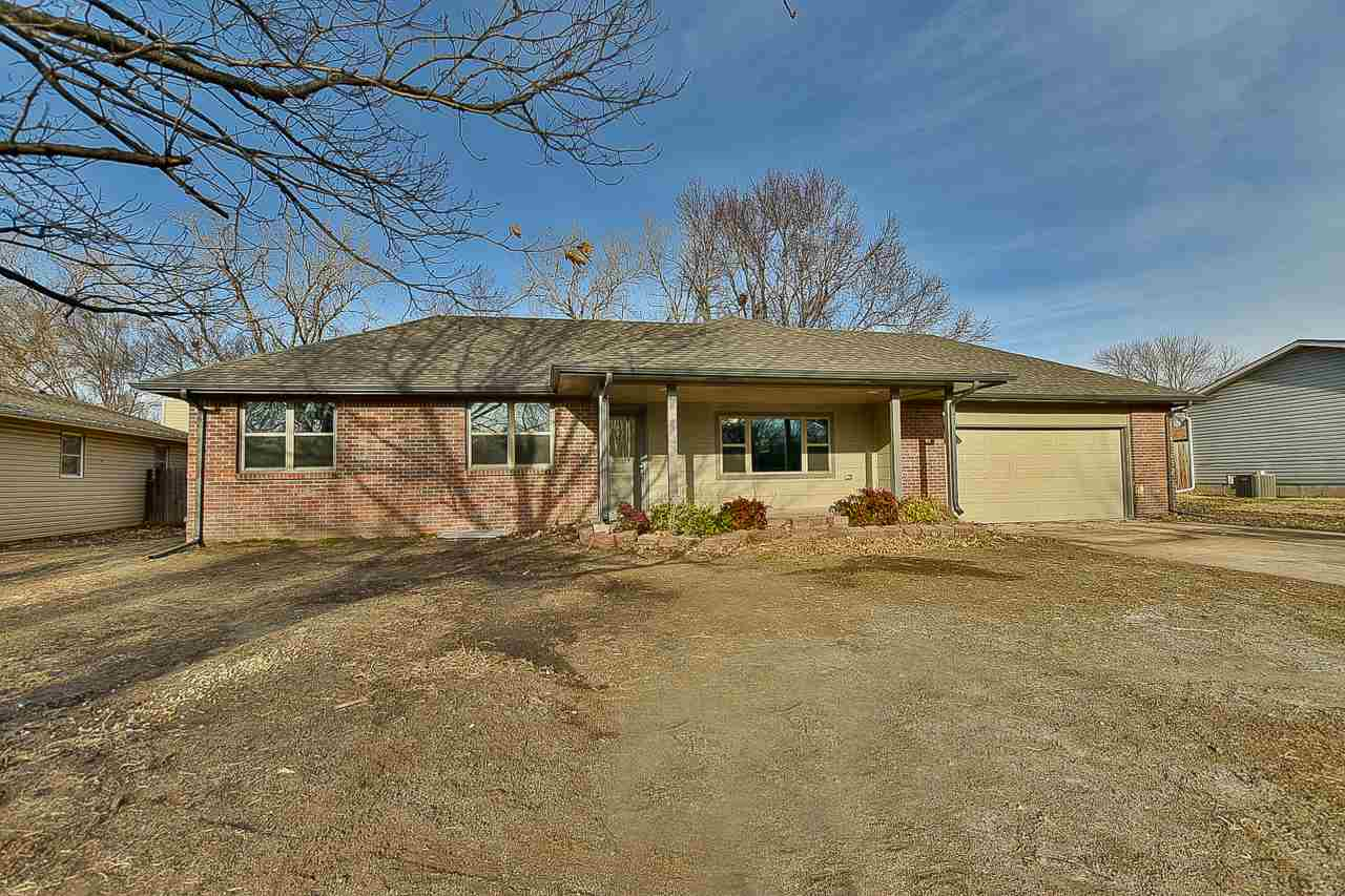 Fully remodeled 5 bed, 3 bath ranch style home in Goddard Schools with gorgeous finishes. Main floor