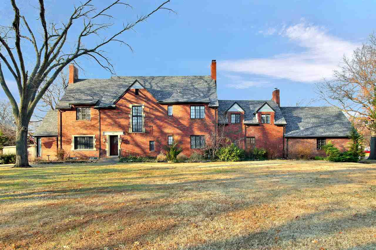 Stately, all-brick, 2 story home on a half-acre corner lot in the coveted and historic - Eastborough