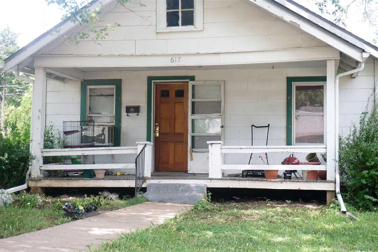 Two bedroom, one bath, one car detached garage. Currently rented out on month to month lease for $450 per month. Tenants request 24 hour notice for showings. Buyers are to verify schools and all courthouse records, such as taxes. All information is deemed reliable, but not guaranteed.