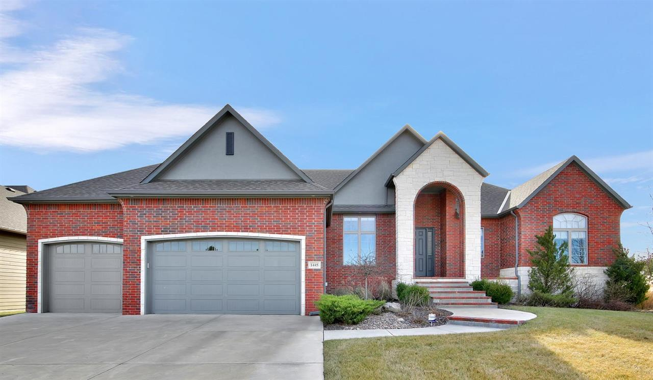 Welcome home! This one owner ranch was custom built by Nies Homes with upgraded finishes throughout.