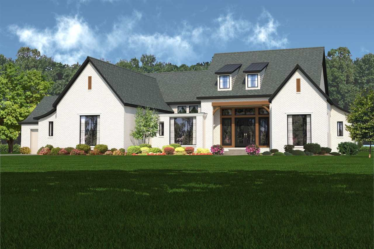 Lots of light, clean lines, and vaulted ceilings all characterize the Lancaster by Nies Homes.  Afte