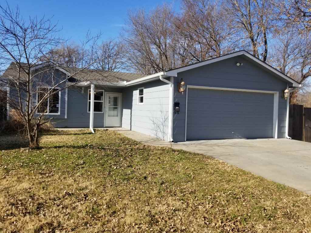 Beautifully and professionally updated and remodeled house with modern and unique colors in southeast area of Wichita. Close to all shopping centers and highway. Featuring 3 bedrooms, 2 baths and 2 car garage. House has been painted inside and outside, with new flooring all over and new light fixtures, etc. Very neat and cozy home. Bring your picky buyers, they will love it.