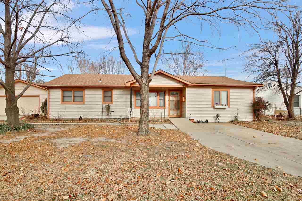 Move in ready home over 1200 square foot located in Haysville.  Large kitchen with island, large 2 c