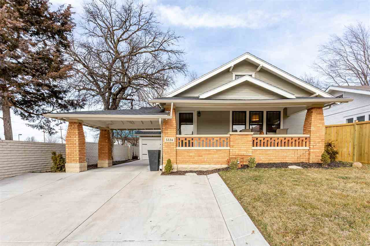 Completely renovated and ready to be your dream home! This charming yet stylish bungalow offers an o