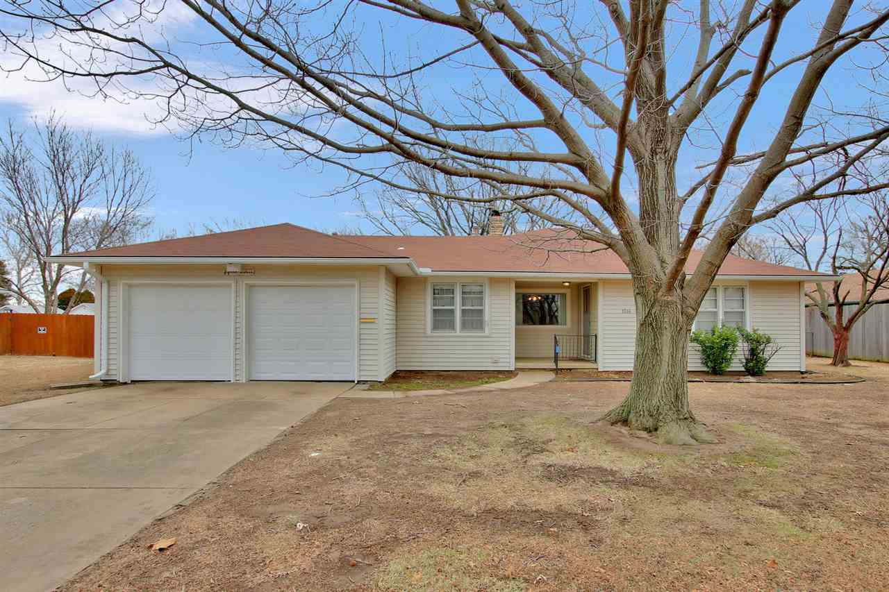 Great family home with large yard!  Come and check out this 4 BR, 2 BA home on almost 1/2 acre fence