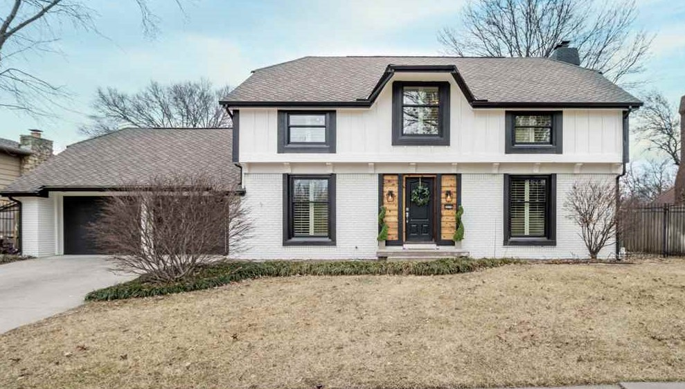 Welcome home to this fully renovated and expertly designed modern farmhouse located in Brookhollow,