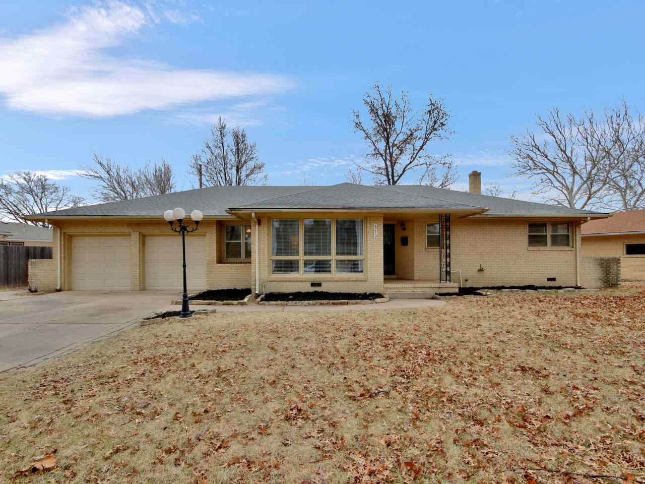 Great opportunity to own a beautiful updated Mid-Century/Modern home on a tree lined street located
