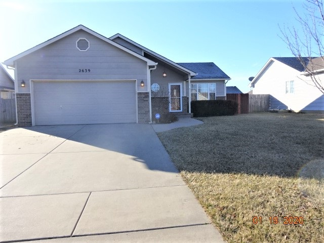 Are you looking for a home in the desirable USD 262 Valley Center school district ? The school bus s