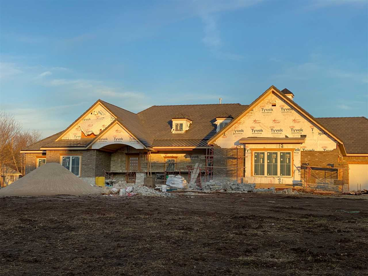 Exquisite New Construction Estate Home by Craig Sharp Homes, Inc. with completion date of April 2020