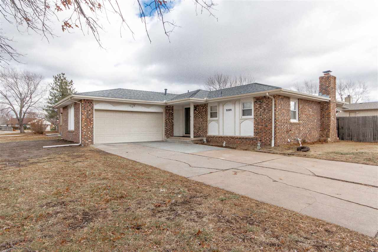 Take a look at this lovely 3 bedroom 3 bathroom brick home!  Every inch of this home is usable space