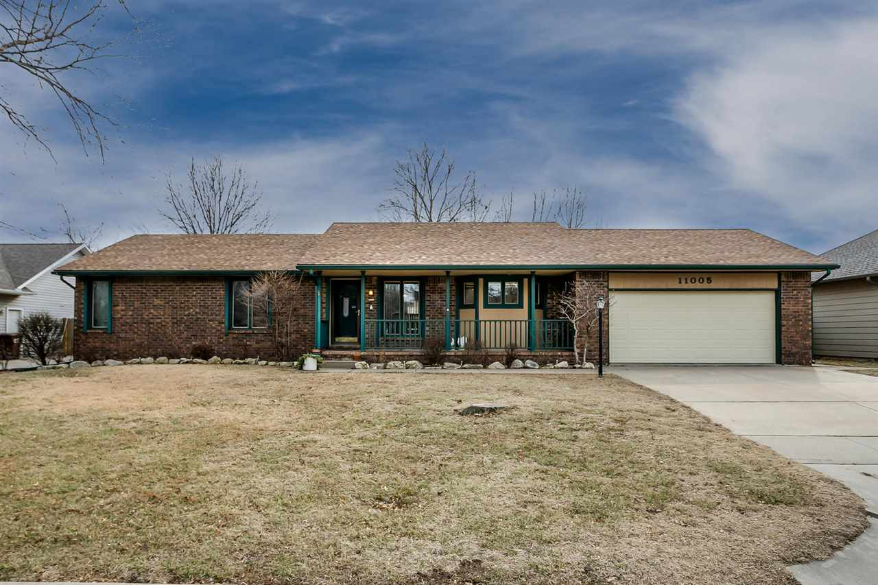 Welcome home! This spacious ranch home is so inviting and move-in ready! The open living and dining