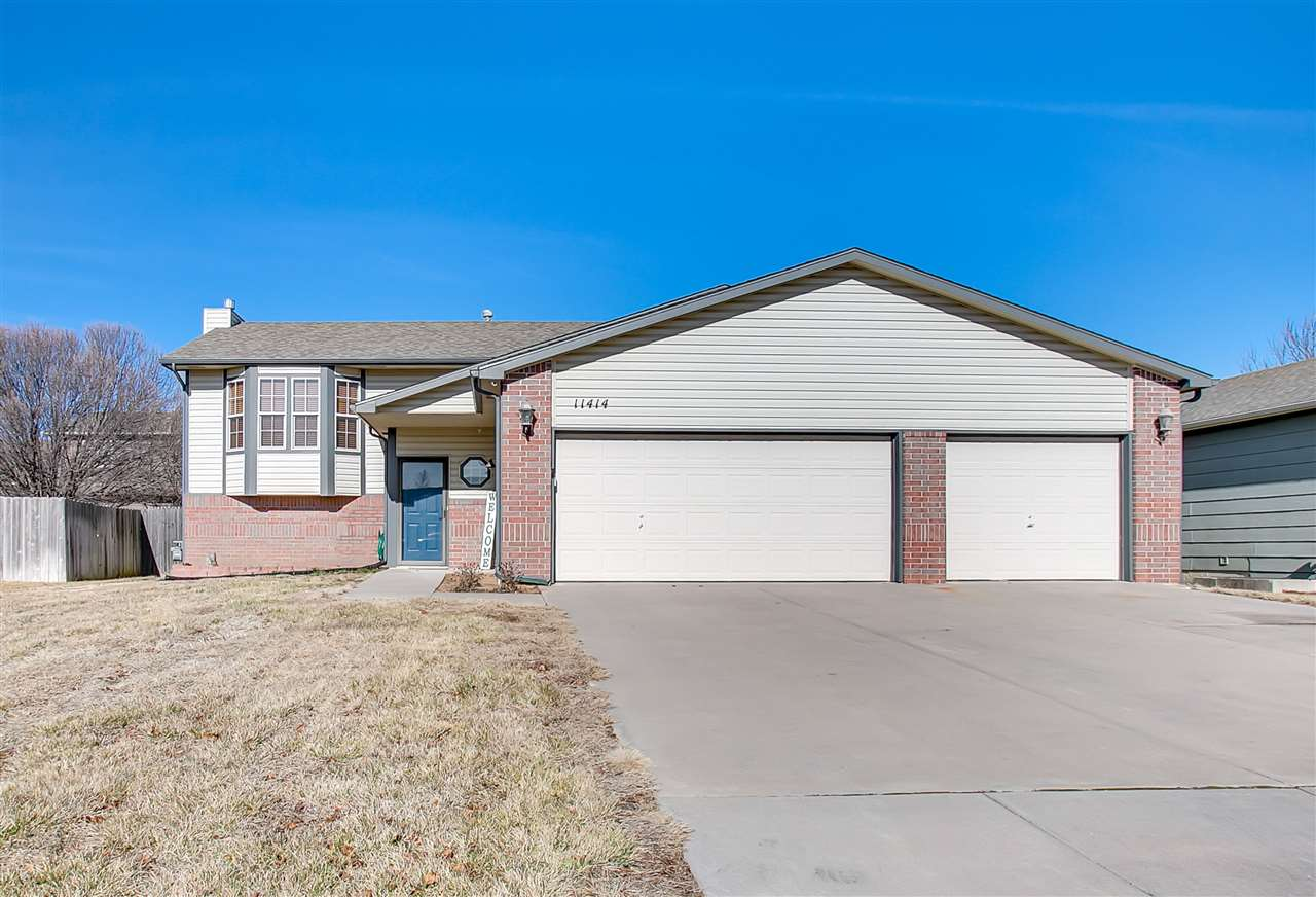 This cute 3 car garage updated home has the potential for 2 more bedrooms and a full  bathroom in th