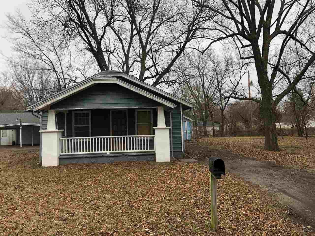 Great investment property on a large lot.