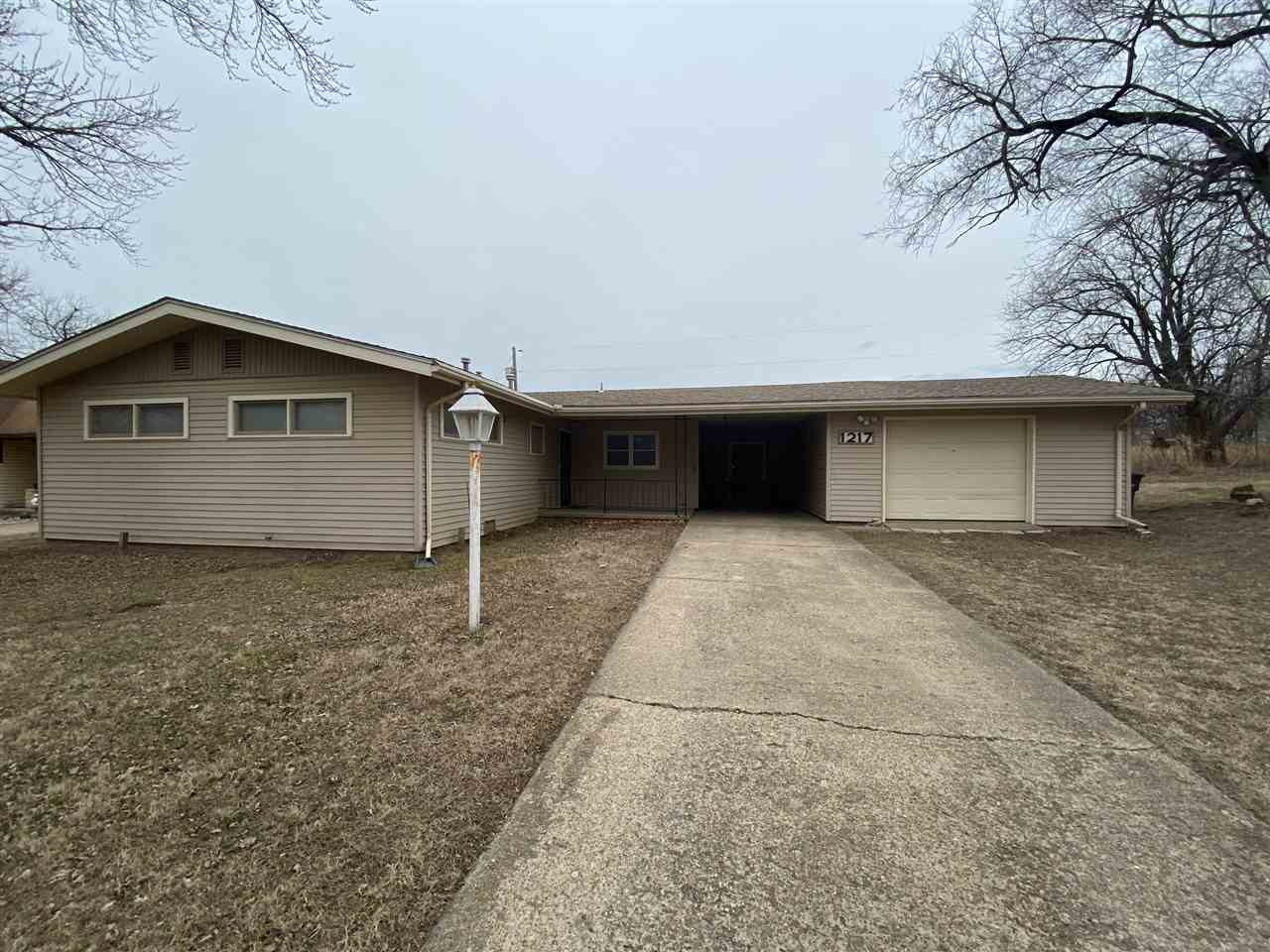 Located in a quiet location this ranch property offers you a quiet country feel with the convenience of town close by! With a newer roof and brand new central h/a this property has been well maintained with both a garage and carport! Call listing agent today to schedule a showing!