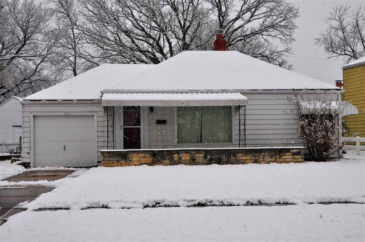 Welcome home to this expanded 2 bedroom, 1 bathroom home. A large family room has been added to the