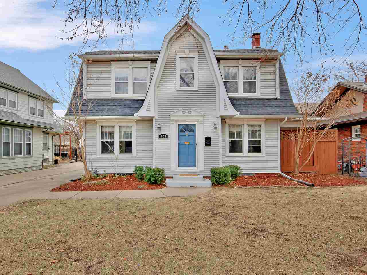 Check out this CHARMING new listing in College Hill. It features ALL the character you've been looki