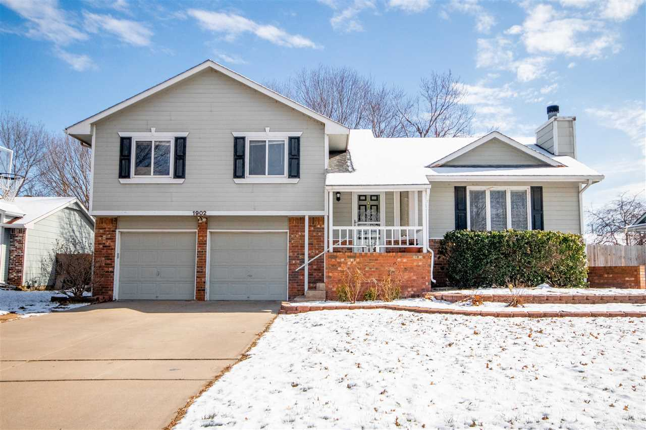 Beautiful 4 bedroom 2.5 bathroom home in the highly desirable Maize School District! You'll love the
