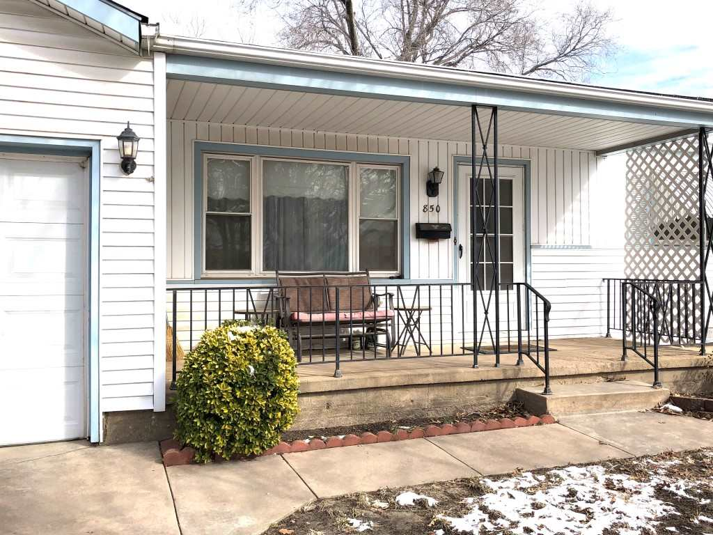 Cute Ranch on Quiet Street with Covered Front Porch Features 1310 Sq. Ft.*If One Level Living is For