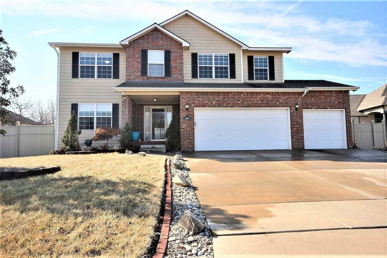 Come see this beautiful, two story home in the Christa McAuliffe School District! This spacious home