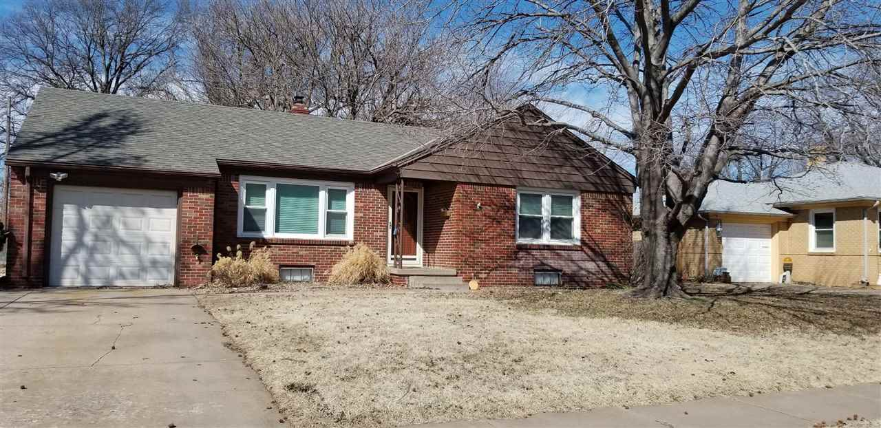 Adorable Move in Ready Home!  Enjoy the Energy Efficiency and Low Maintenance of Full Brick with Upd