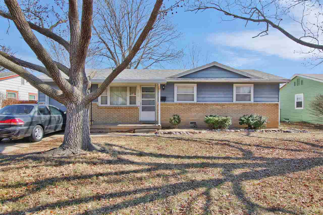 One owner home is south Wichita with 3 bedrooms, 1 1/2 baths with plenty of space for a growing fami