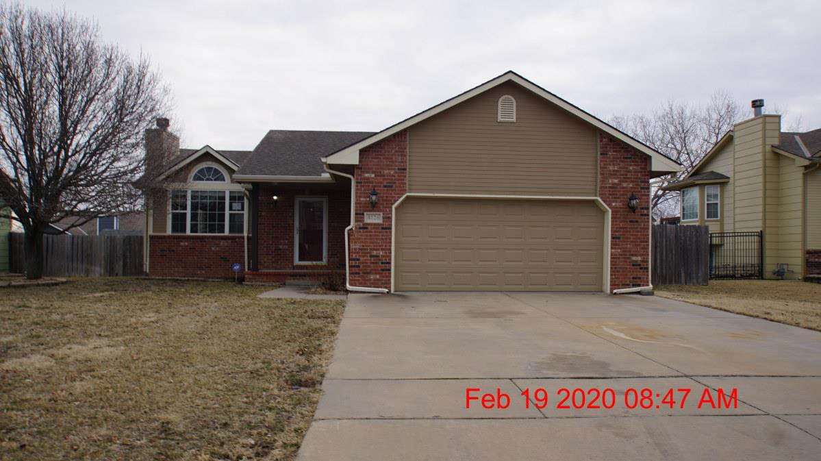Near park is this 3 bdrm, 2 ba ranch home with wood deck, fence,  two car att garage, finished view-