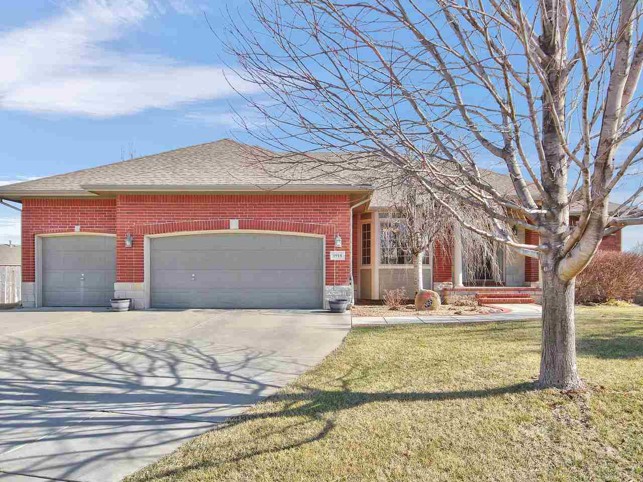 Welcome Home to this Beautiful 5 BR, 3 Bath with a Private Saltwater Pool. Lovely two way Fireplace