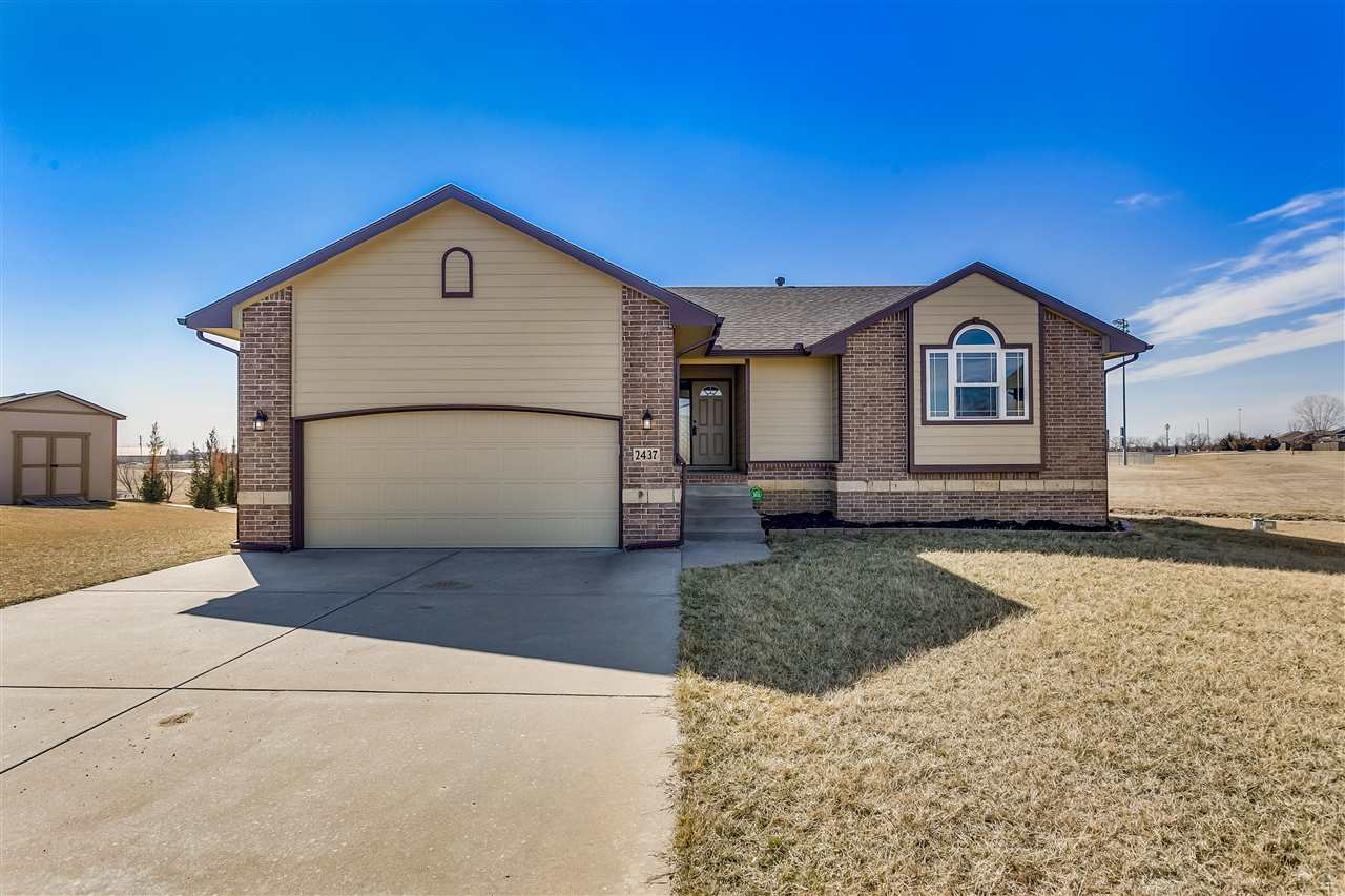 Stunning, Move In ready, 4 bed, 3 bath home located in The Fairmont a highly sought after NE Wichita