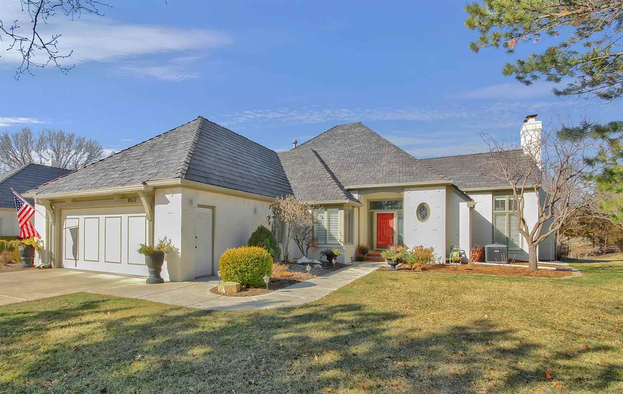 Welcome home! Exquisite Woodspring patio home, nestled on an incredible lot overlooking both water a